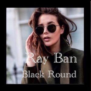 💯Ray Ban Sunglasses RB3447 BLACK on BLACK